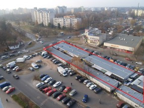 Położenie stacji Metro Trocka / fot. Targowek.to