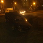 Niebezpieczny wieczór na drogach. Znowu wypadek przy McDonaldzie