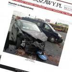 Kolejny wypadek na skrzyżowaniu Radzymińskiej i Łodygowej