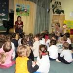 Znana aktorka czytała dzieciom