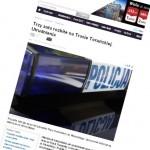 Dwa wypadki na Trasie Toruńskiej