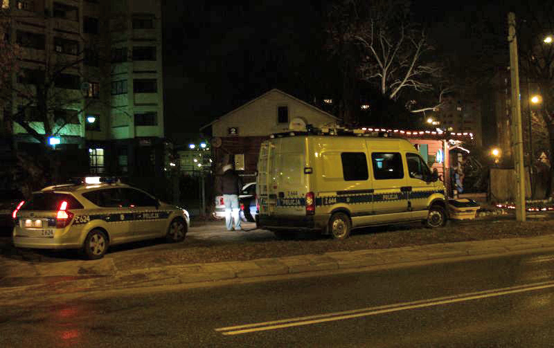 Wypadek na Trockiej przy Korzona / fot. targowek.info