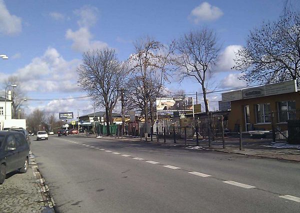 Ulica św. Wincentego nie zmieniła się od lat / fot. targowek.info