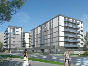 Projekt budynku przy ul. Kuflewskiej 6 / fot. www.rsmpraga.pl