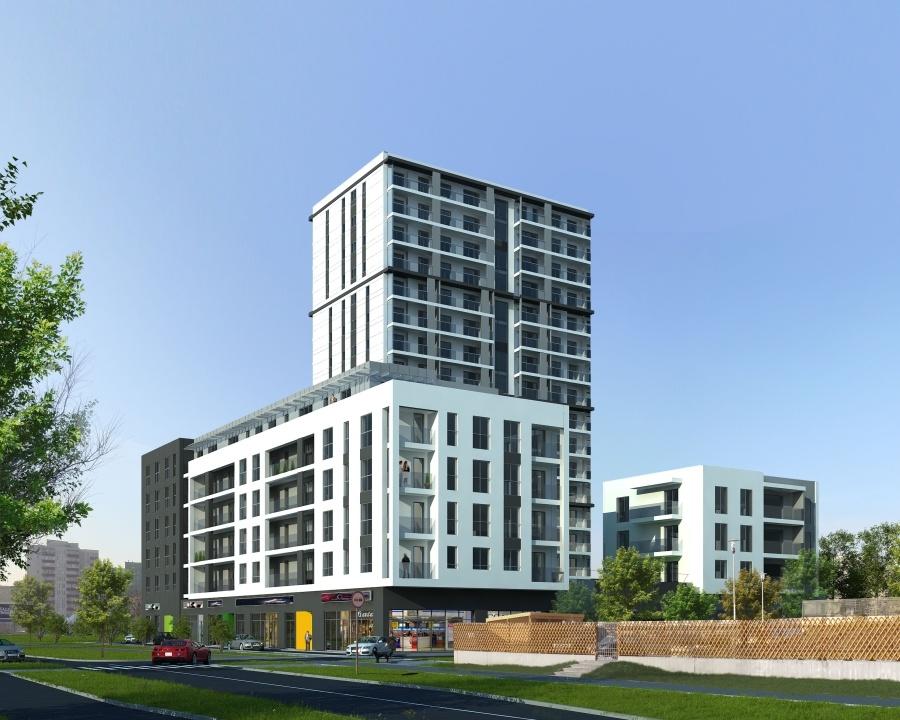 Tak ma wyglądać wieżowiec inwestycja Kondratowicza firmy APM Development
