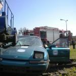 Katastrofa kolejowa na Zabranieckiej [zdjęcia i wideo]