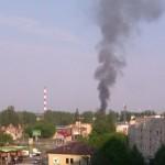 Pożar na Targówku Fabrycznym