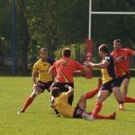 Mistrzostwa w rugby na Targówku. Zdjęcia