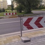 Nowe przejście dla pieszych przez Kondratowicza