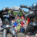 Turniej rycerski w Parku Bródnowskim