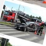 Rozbita laweta na Łabiszyńskiej