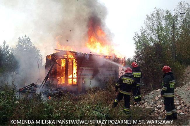 Akcja strażaków na Bardowskiego