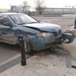 Wypadek przy Osiedlu Wilno. Auta wpadły na chodnik
