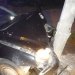 Pijany kierowca rozbił się niedaleko cmentarza