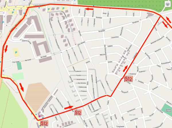 Dane mapy © użytkownicy OpenStreetMap, CC BY-SA / Targowek.info