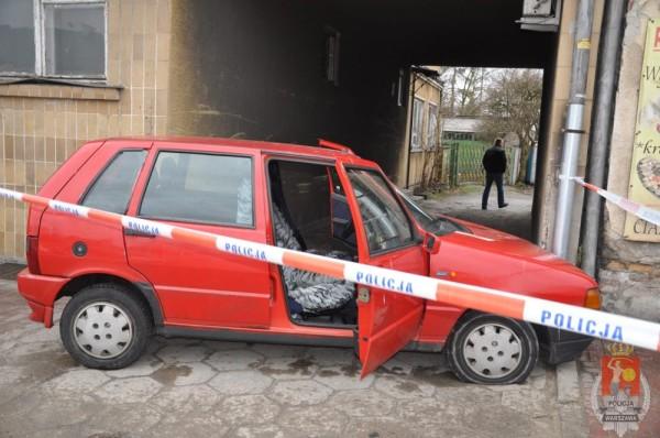 To samo auto z drugiej strony /fot. Policja