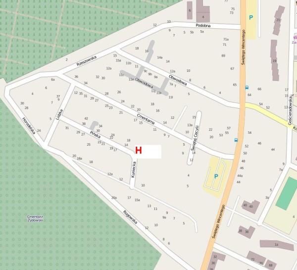 mapa ©  użytkownicy OpenStreetMap, CC BY-SA