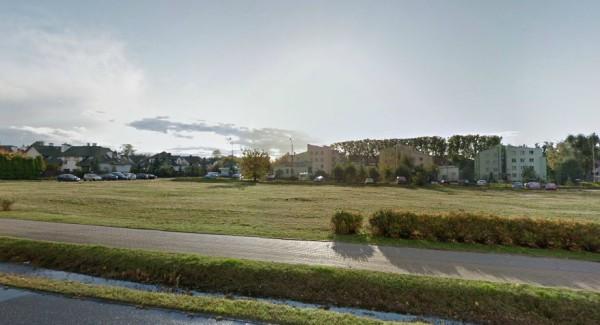 Miejsce przyszłej nowej pętli na Zaciszu /fot. Google Street View
