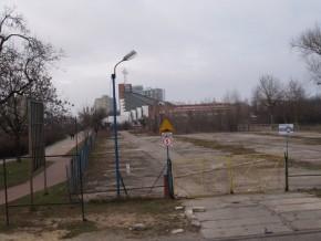 Zlikwidowany parking przy Poborzańskiej