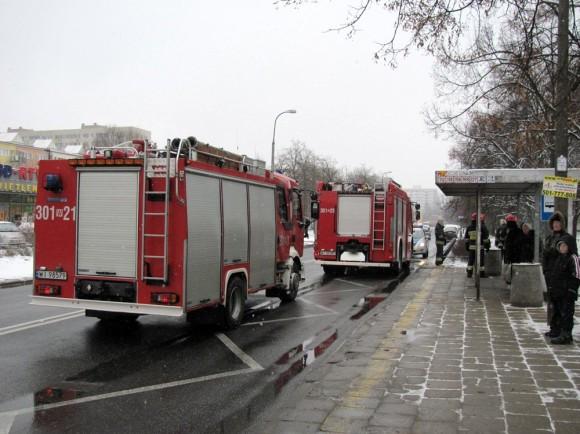 Pożar w przychodni weterynaryjnej /fot. targowek.info