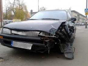 Wypadek na Targówku / fot. targowek.info