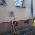 Tablica na bloku poświęcona szefowi ZDM-u