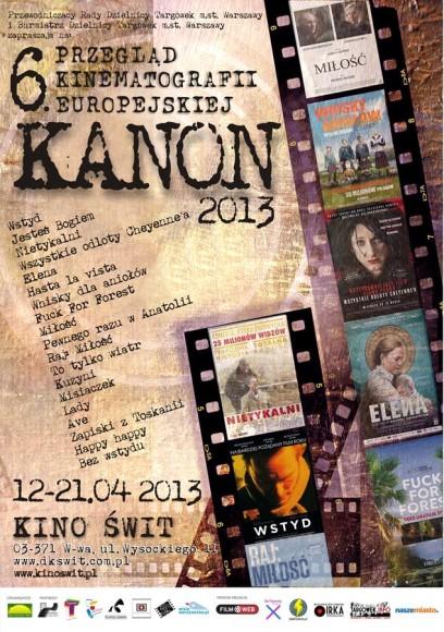 KANON 2013 plakat