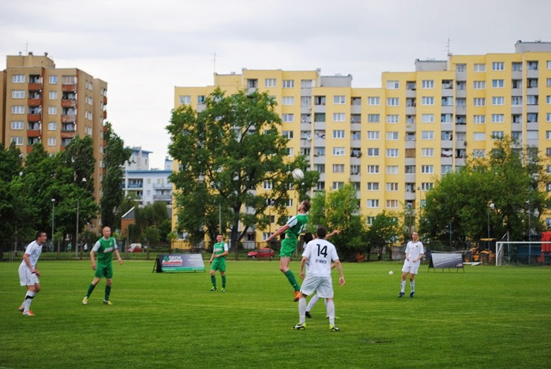 Fragment meczu GKP Targówek - Start Otwock /fot. GKP