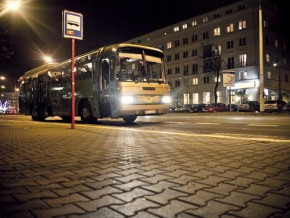 Marzyciel - złoty autobus Pawła Althamera / fot. openartprojects.org