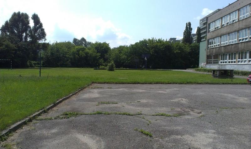 Tak dziś wygląda boisko przy Bartniczej