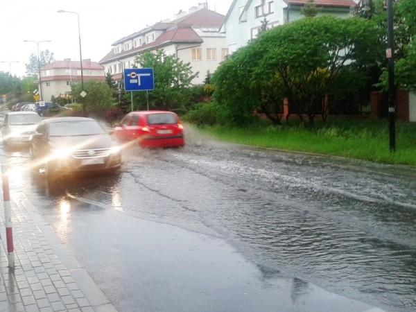 Jezioro na ul. Rolanda /fot. targowek.info