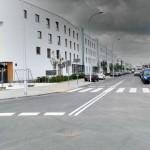 Nowy plac i nowy kwartał budynków na Osiedlu Wilno