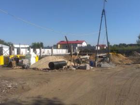 Budowa pawilonów handlowych przy Kraśnickiej / fot. targowek.info