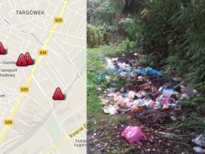 Śmieciowa mapa Targówka. Tu trzeba posprzątać