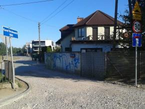 Brakujący fragment ul. Nad Strugą /fot. targowek.info