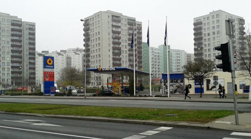 Statoil na ul. Kondratowicza /fot. targowek.info