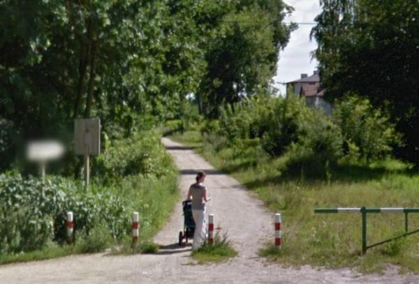 Alejka wzdłuż Kanału / fot. Google Street View