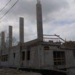 Zaczną budowę hali…, która trwa od kilku miesięcy