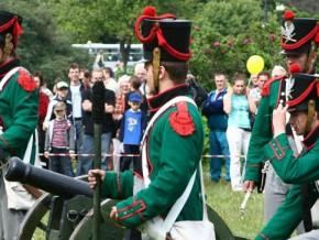Turniej rycerski w Parku Bródnowskim / fot. DK Świt