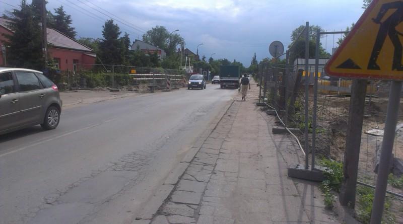 Ulica Wierna wyjdzie na Swojską w tym miejscu