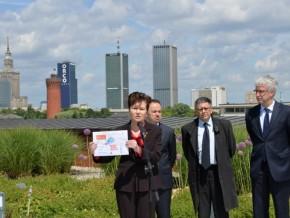 Prezydent Hanna Gronkiewicz-Waltz obiecuje inwestycje także dla naszego kawałka miasta /fot. Urząd m.st. Warszawy