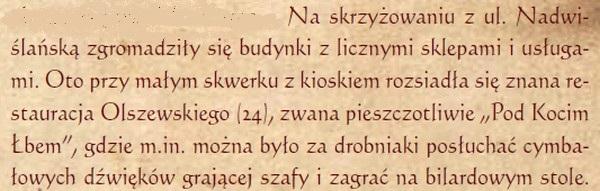 """Fragment """"Nowe Bródno wydobyte z mgły zapomnienia"""" Zygmunta Kupniewskiego"""