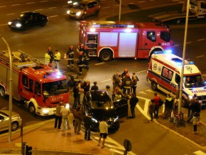 Wypadek skutera na Kondratowicza