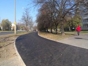 Ścieżka wzdłuż ul. Wysockiego / fot targowek.info