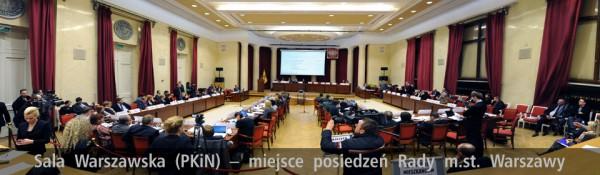 Rada Warszawy / fot. UM Warszawa