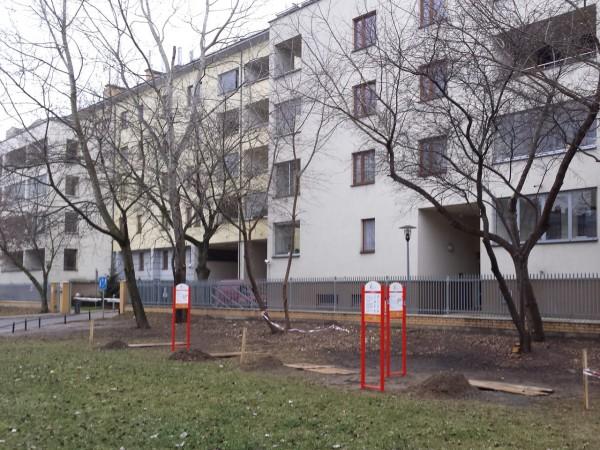 18 listopada 2014 r. - to samo miejsce, co na zdjęciu powyżej, tyle że po wyborach / fot. targowek.info