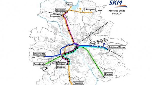 Skrajem Targówka miałaby jeździć linia niebieska, już jeździ linia fioletowa, ale nie ma stacji przy Radzymińskiej / fot. UM Warszawa za TVN Warsawa
