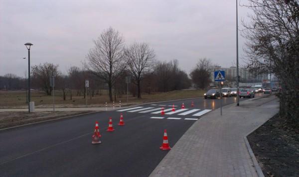 Nowe przejście przez ul. Gilarską / fot. targowek.info