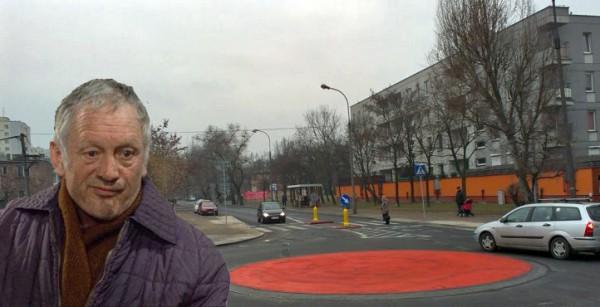 Ciekawe co Józef Balcerek powiedziałby o nowym rondzie? / fot. Targowek.info, alternatywy4.net
