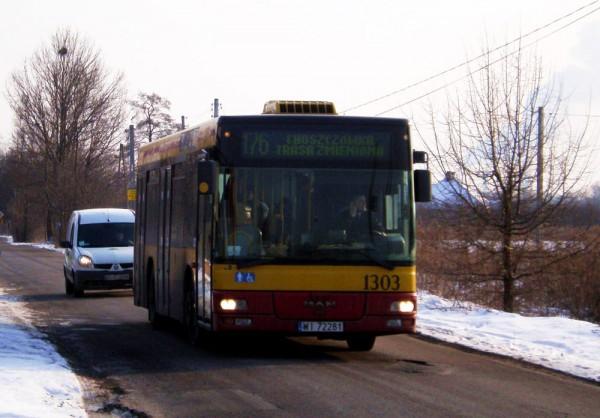 176 jedzie na Białołękę / fot. Mikiapole3/Warszawikia